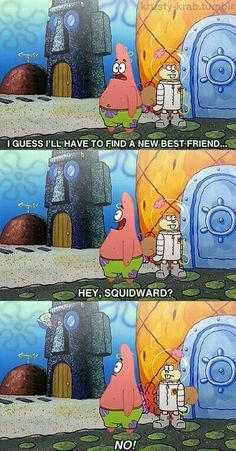 I love squidward