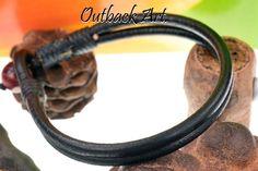2B-764 Country Style Real Greek Leather Tigers Eye Stone Wristband Men Bracelet.