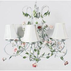 Beautiful #romantic #floral ceiling lamp! www.inart.com