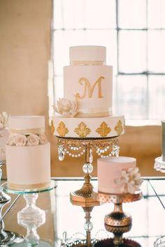 wedding-cake with lotus sugarflower