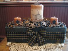 primitive country decorating a mantle Rustic Crafts, Country Crafts, Country Decor, Decor Crafts, Home Crafts, Easy Primitive Crafts, Americana Crafts, Home Decor, Primitive Kitchen