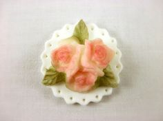 12 Rose Cupcake Fondant Topper Wedding Cupcake by LenasCakes, $23.95