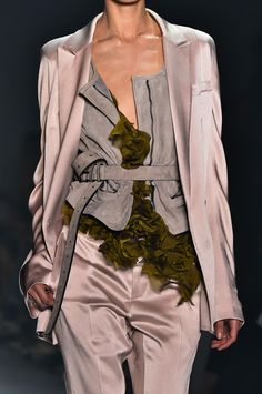 The unusual mix & match has something! Haider Ackermann F/S 2015 #styling