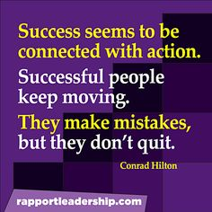 Success and action
