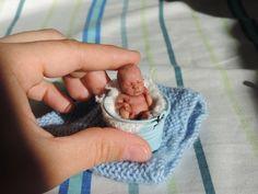 Miniature Doll Art   Sheila Mrofka Babies