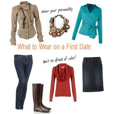 """""""what to wear on a first date"""" by jillmarinelli on Polyvore"""