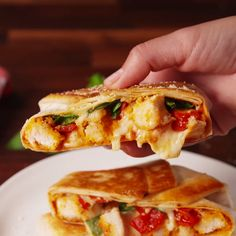 Eat Stop Eat To Loss Weight - This hand-held chicken parm is a game-changer. - In Just One Day This Simple Strategy Frees You From Complicated Diet Rules - And Eliminates Rebound Weight Gain Tasty Videos, Food Videos, Crunchwrap Recipe, Stop Eating, Game Changer, Mexican Food Recipes, Love Food, Food To Make, Chicken Recipes