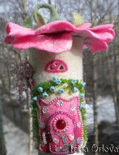 Купить Светильник Домик, где живет Весна - домик, оригинальный подарок, предмет интерьера