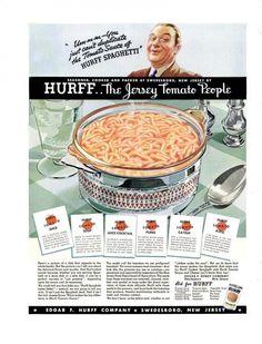 LIFE Apr 19, 1937 hurff spaghetti ad