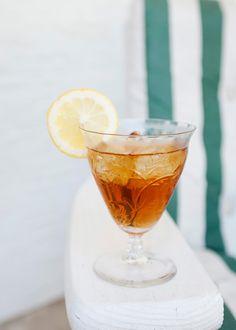 Bergamot Iced Tea Cocktail