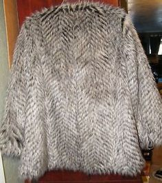 Womens-Marc-by-Marc-Jacobs-New-York-NEW-Rickie-Raccoon-Faux-Fur-Coat-Large