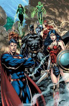Justice League vs. Suicide Squad by Jason Fabok by BatmanMoumen
