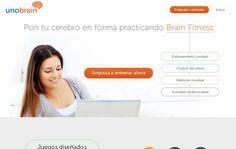 Unobrain, juegos mentales online para entrenar tu cerebro
