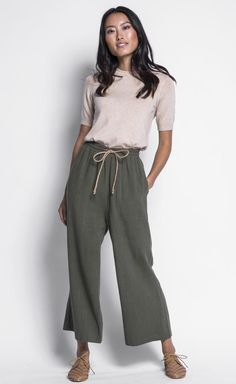 That is exactly what this pair of Martha Pants will make you feel like. A drawstring linen pant is perfect for summer, super comfortable and will always make you feel classy. Linen Drawstring Pants, Linen Pants, Pink Martini, Long Cardigan, Black Sandals, Classy, Tank Tops, Fabric, Skirts