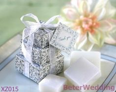 XZ015_Stacked Gift Boxed Soaps Wedding Decoration_Wedding Gift_Wedding Souvenir_hotel amenity