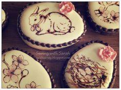 Stamped Easter Cookies #Easter #EasterCookies decorated cookies, bunny cookie #sugarcookies