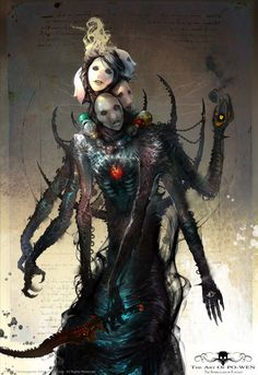 Tagged with monsters, rpg, inspiration, character art; Dark Fantasy Art, Dark Art, Fantasy Inspiration, Character Inspiration, Character Art, Monster Design, Monster Art, Arte Horror, Horror Art