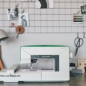 Did you know we sell sewing machines? I am a MASSIVE fan of the Husqvarna sewing machines since getting one for my 21st Birthday. This one is the JADE 20 and I love the stylish look of it! I have hand picked my favourite machines from their range and they are available on our website now. #sewingmachines #sewing #dressmaker #memade #maker #husqvarna