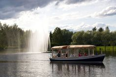 Lakeland GTE started evening cruises with ecological electric boat.