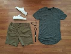 WEBSTA @ grant_michaels_ - Like the watch? Check out Tim Grussing to get your hands… Cool Outfits, Casual Outfits, Men Casual, Fashion Outfits, Outfit Grid, Men Style Tips, Mode Inspiration, Mode Style, Men Looks