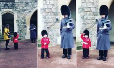 A royally cute salute! Four-year-old boy melts hearts on his birthday #DailyMail