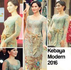 30 Model Kebaya Modern Terbaru 2016