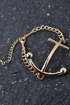 Anchors Up Bracelet - Looks just like a Kate Spade bracelet I saw last year!