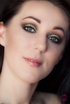 Makijaż wykonany paletką Sleek Garden of Eden oraz Au Naturel