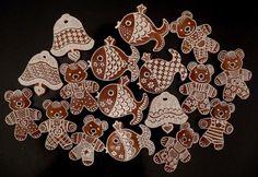 vianocne, Vianočné medovníky, Inšpirujte sa pri zdobení šikovnými medovnikárkami. Christmas Cookies, Gingerbread, Projects To Try, My Favorite Things, Cards, Author, Ginger Beard, Bakken, Christmas