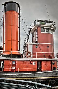 HDR - Tugboat Hercules - Maritime Museum - Hyde Street Pie…   Flickr