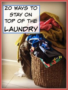 It's not always easy keeping up with housework, especially with kids around. When it comes to the laundry, you may end up getting overwhelmed by the sheer repetitive nature of having to sort, wash and fold clothing ALL the time. Cleaning Checklist, Cleaning Hacks, Sorting Clothes, Wash And Fold, Childbirth Education, Laundry Hacks, Keep Up, Home Repair, Diy Organization