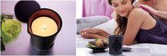 envie d'un petit massage laissez vous tenter pour cette bougie de massage Partylite, Candle Jars, Candles, Forbidden Fruit, Decoration, Tea Lights, Fragrance, Envy, Home