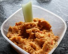 Red pepper hummus.  Delicious, fat free and free on EE and green on Slimming World plan.  Don't Feed The White Robins