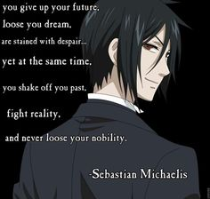 Black Butler Quote
