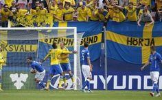 EURO UNDER 21 2015 è Shock Italia!! La Svezia rimonta e vince 2-1 Italia vs Svezia under 21, prima gara dell'europeo della Repubblica Ceca, è una sfida che lascia l'amaro in bocca agli Azzurrini, beffati da una rimonta impronosticabile sino alla prima ora di gioco. #under21 #italia #svezia
