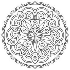 Find Mandala Black White Round Ornament Coloring stock images in HD and millions of other royalty-free stock photos, illustrations and vectors in the Shutterstock collection. Mandalas Painting, Mandalas Drawing, Dot Painting, Zentangles, Pattern Coloring Pages, Mandala Coloring Pages, Coloring Pages To Print, Free Adult Coloring, Printable Adult Coloring Pages