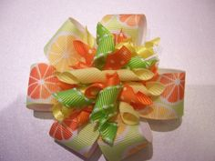 Sweet Slices - Citrus Boutique Korker Hairbow