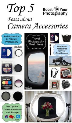 Today's post highlights top posts covering lenses and accessories. Previous top posts have  covered camera settings, aperture, exposure, phone photography, DIY photography hacks, composition, top phot