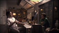 Neal Caffrey's Dining Room on White Collar