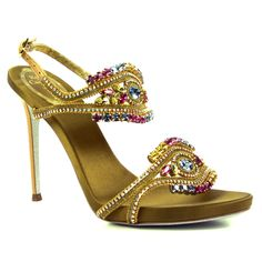 Luxury Long Heel Ladies Shoes Collection by Rene Caovilla (1) | Fashion