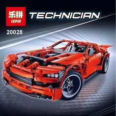 82.00$  Buy now - http://aligxa.worldwells.pw/go.php?t=32782160245 - LEPIN 20028 Technic series Super Car assembly toy car model DIY brick building block toy gift for boy New Year gift legeod 8070 82.00$