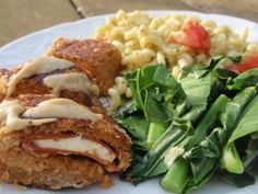 vegan cordon bleu...this will take a little tinkering to make g/f, but it just looks too good not to give it a try.