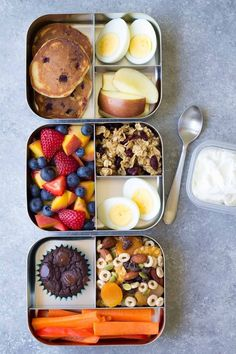 Healthy Lunch Ideas for Kids! Bento box lunchbox ideas to pack for school, ho 10 Healthy Lunch Ideas for Kids! Bento box lunchbox ideas to pack for school, ho. - Healthy Lunch Ideas for Kids! Bento box lunchbox ideas to pack for school, ho. Snacks For Work, Healthy Work Snacks, Health Snacks, Lunch Snacks, Healthy Meal Prep, Healthy Eating, Healthy Recipes, Healthy Packed Lunches, Healthy Rice