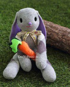 gkkreativ: Socken Hase