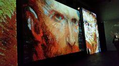Mostra Van Gogh Alive - Palazzo degli Esami - Roma.