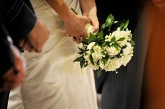 White Rose & Lily Of The Valley Bouquet