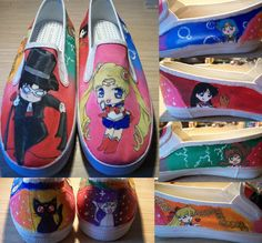 Sailor Moon shoes. And the geek girl inside of me squeals! :D