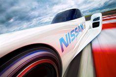 nissan unveils electric ZEOD race car for 2014 le mans - designboom