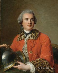 Jean-Marc Nattier Portrait of Jean Victor de Rochechouart Duc de Mortemart in the Ceremonial Dress of a Colonel of the Order of Saint Louis 1756