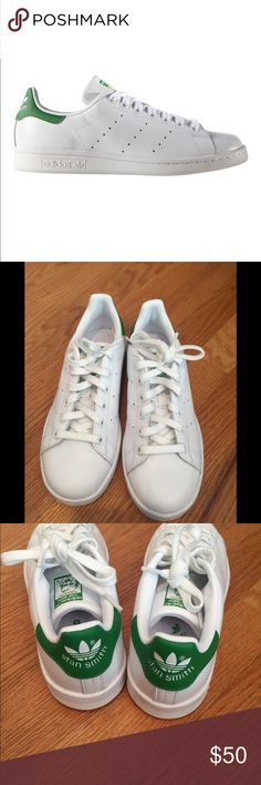 NWOT- Adidas Sam Smith sneakers NWOT - Adidas Stan Smith sneakers - size 6 (fits 6.5) - never worn - a true classic for your wardrobe! adidas Shoes Sneakers